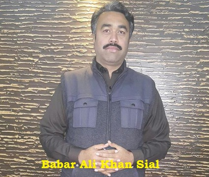 Babar Ali Khan Sial - Chairman Jhang District Council