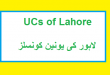 Lahore City Ki Union Councils List