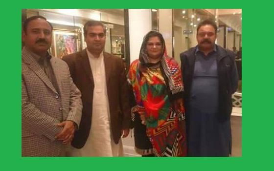 Chairperson Zila Council Sialkot Hina Arshad Warraich, Vice Chairmans Raza Subhani,Ziafat Ali Awan and Ch Jameel Ashraf