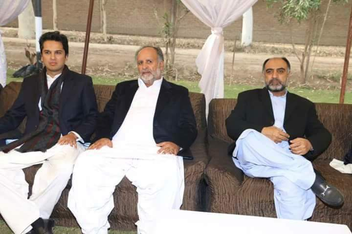 Sardar Azhar Khan leghari Chairman Zila Council and Arshad Khan leghari MNA Rahim yar khan