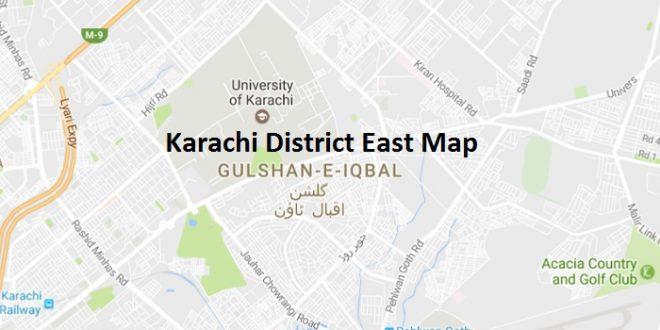 Karachi East District UC List, MNA MPA Seats کراچی ضلع شرقی