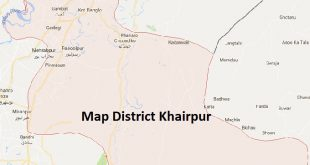 Khair Pur District Map