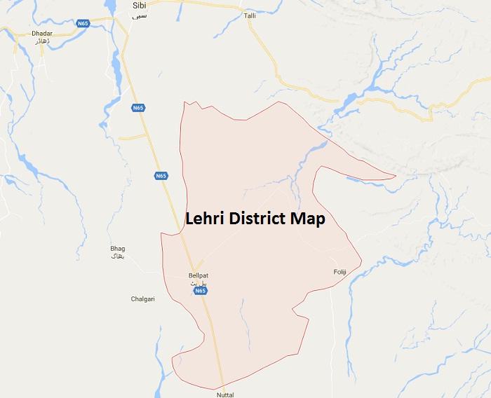 lehri district uc wards list mna mpa seatsلہری ضلع کی یونین کونسلز