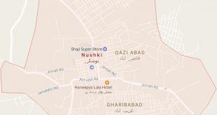 Nushki City Google Map