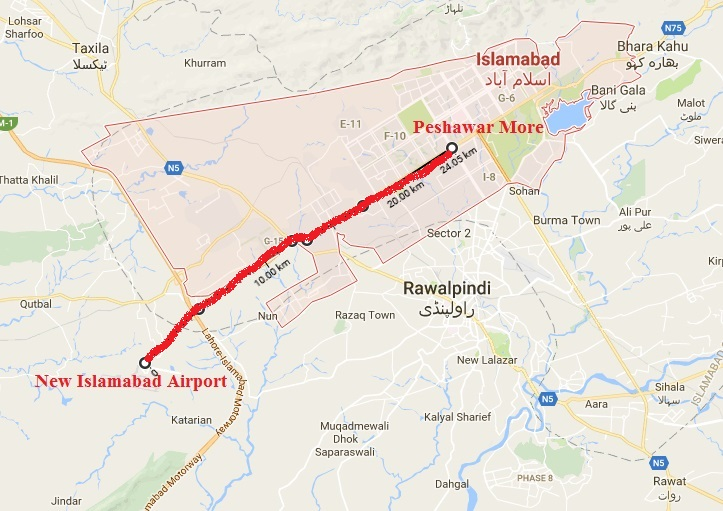 Metrobus Project Peshawar More to New Islamabad
