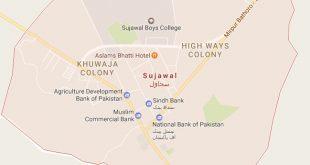Sujawal City Map