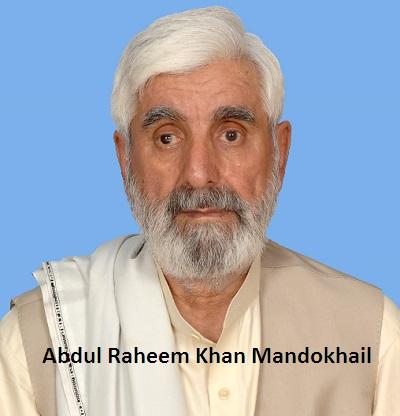 Abdul Rahim Mandokhel - MNA NA-260 party PKMAP Death Date 20-05-2017