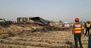 Ahmadpur East Bwp Oil Tanker Blast accident Picture today