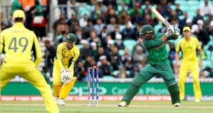 ICC Champion Trophy Match Australia Vs Bangladesh Oval UK 5-6-2017