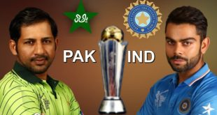 India Vs Pakistan Cricket match ICC Champion Trophy Live Update
