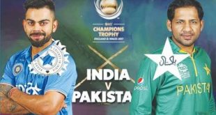 India Vs Pakistan ICC Champion Trophy Final Match Live Update