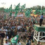 PMLN Jalsa Koh Daman Peshawar NA-4 Halqa - Amir Muqam Speech 3