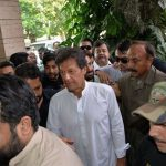 Imran Khan Arrival in Jhelum Today Pic