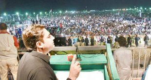 Bilalwal Bhutto Zardari Addressing Jalsa in Hyderabad on 18 Oct 2017