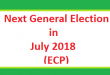 Next Pakistani Election in July 2018 - ECP