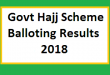 Hajj Balloting Result 2018 Online