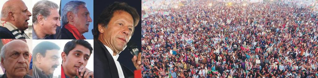Imran Khan Addressing PTI Lodhran Jalsa