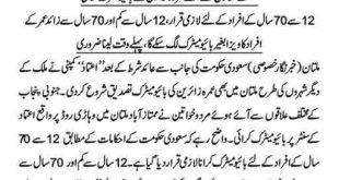 Umra Zaireen Ki Biometric Verification Started