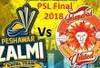 PZ Vs IU - PSL Final Live Karachi Today 25 Mar 2018