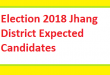 Election 2018 Jhang District Expected Candidates MNAs MPAs