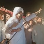 Ali Haider Gillani of PPP Addressing Jalsa in Nawaz Pur Multan NA-154 Halqa