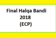 Final Halqa Bandi 2018 - ECP Download