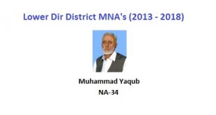 Lower Dir MNA Pics - Muhammad Yaqub