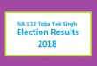 NA 112 Toba Tek Singh Election Result 2018 - PMLN PTI PPP Candidate Votes Live Update