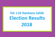 NA 118 Nankana Sahib Election Result 2018 - PMLN PTI PPP Candidate Votes Live Update