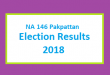 NA 146 Pakpattan Election Result 2018 - PMLN PTI PPP Candidate Votes Live Update