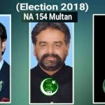 NA 154 Multan - Expected Candidates of PTI, PPP and PMLN - Sikandar Hayat Khan, Abdul Qadir Gillani and Salman Qureshi, Javed Waraich, Ahmad Hussain Dahar