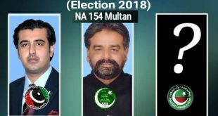NA 154 Multan - Expected Candidates of PTI, PPP and PMLN - Sikandar Hayat Khan, Abdul Qadir Gillani and Salman Qureshi, Javed Waraich, Ahmad Hussain Dahar