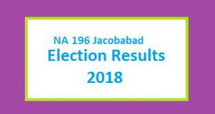 NA 196 Result 2018 on