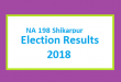 NA 198 Shikarpur Election Result 2018 - PMLN PTI PPP Candidate Votes Live Update