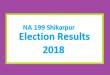 NA 199 Shikarpur Election Result 2018 - PMLN PTI PPP Candidate Votes Live Update