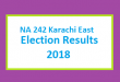 NA 242 Karachi East Election Result 2018 - PMLN PTI PPP Candidate Votes Live Update