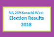 NA 249 Karachi West Election Result 2018 - PMLN PTI PPP Candidate Votes Live Update