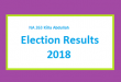 NA 263 Killa Abdullah Result 2018 - PMLN PTI PPP Candidate Votes Live Update