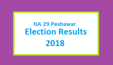 NA 29 Peshawar Election Result 2018 - PMLN PTI PPP Candidate Votes Live Update