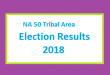 NA 50 Tribal Area Election Result 2018 - PMLN PTI PPP Candidate Votes Live Update