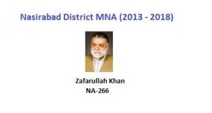 Nasirabad MNA Pics - Zafarullah Khan