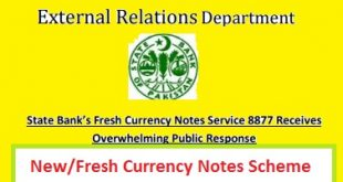 New Fresh Currency Notes Scheme in Ramzan and on Eid ul Fitr 2018 - 1439 Online SMS Service 8877 Bank Branches List