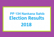 PP 134 Nankana Sahib Election Result 2018 - PMLN PTI PPP Candidate Votes Live Update