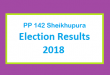 PP 142 Sheikhupura Election Result 2018 - PMLN PTI PPP Candidate Votes Live Update