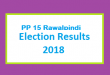PP 15 Rawalpindi Election Result 2018 - PMLN PTI PPP Candidate Votes Live Update