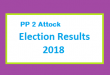 PP 2 Attock Election Result 2018 - PMLN PTI PPP Candidate Votes Live Update