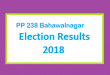 PP 238 Bahawalnagar Election Result 2018 - PMLN PTI PPP Candidate Votes Live Update