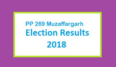 PP 269 Muzaffargarh Election Result 2018 - PMLN PTI PPP Candidate Votes Live Update