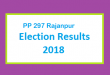 PP 297 Rajanpur Election Result 2018 - PMLN PTI PPP Candidate Votes Live Update