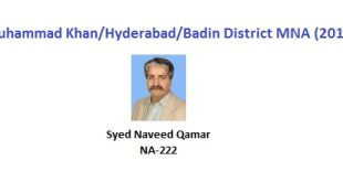 Tando Muhammad Khan-Hyderabad-Badin MNA Pics - Syed Naveed Qamar